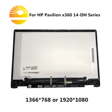 """HP Pavilion x360 14M DH0003DX 14 DH0008CA L51119 001 14.0 """"FHD LCD ekran dokunmatik ekran meclisi + Digitizer için kontrol kartı"""