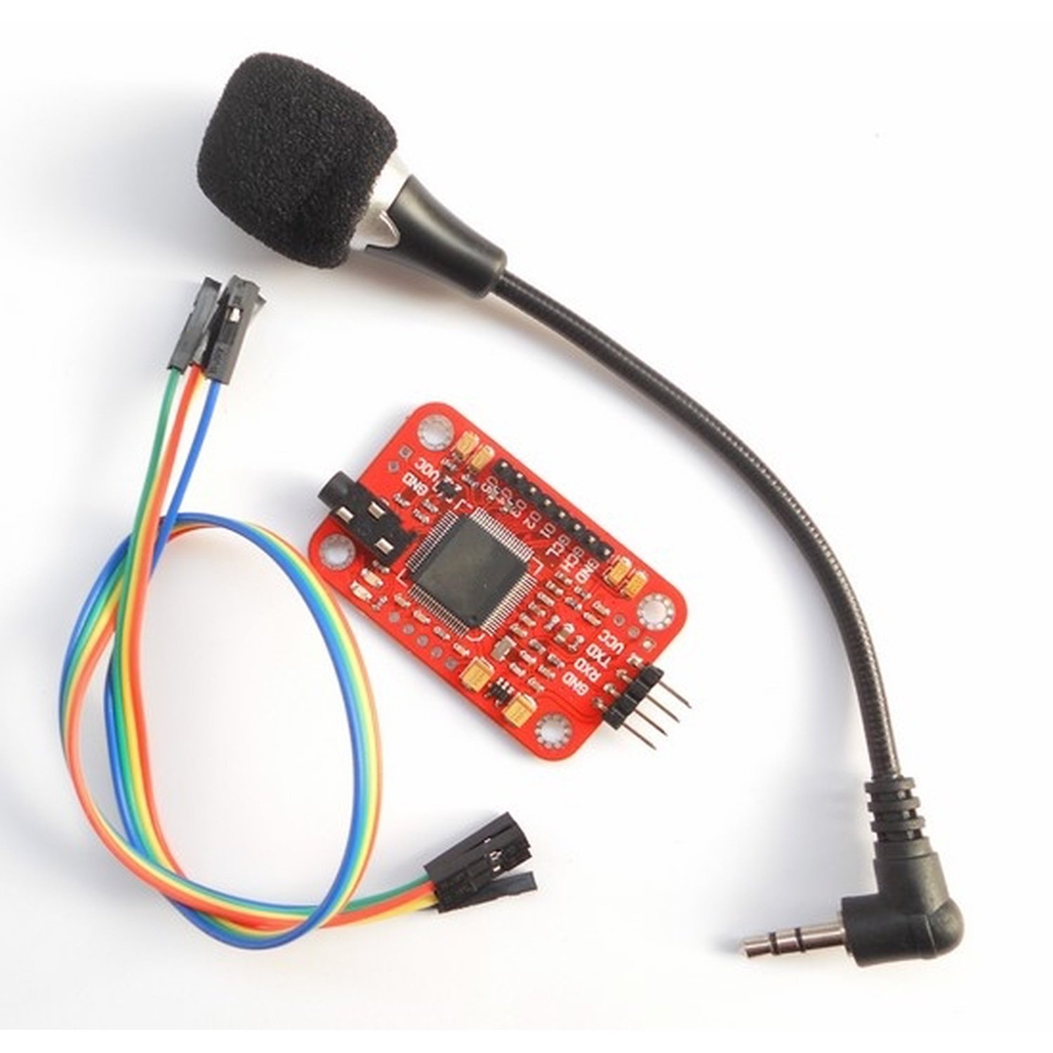 купить Voice Recognition Module -- Arduino Compatible, Checkpoint your devices by voice дешево