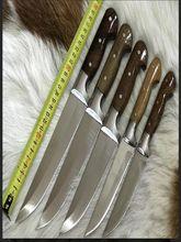 Türkçe 5 adet paslanmaz çelik mutfak araç seti viraj rahat kolu şef dilimleme ekmek Santoku yardımcı soyma bıçağı ev Gadget