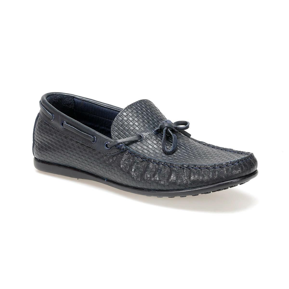 FLO 6082 Navy Blue Men 'S Shoes Oxide