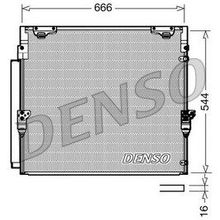 Радиатор кондиционераToyota Landcruiser 4.5TD 07 DENSO DCN50036