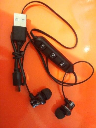 Magnetic Wireless Bluetooth Earphone Stereo Sports Waterproof Earbuds Wireless in ear Headset with Mic For IPhone 7 Samsung Phone Earphones & Headphones    - AliExpress