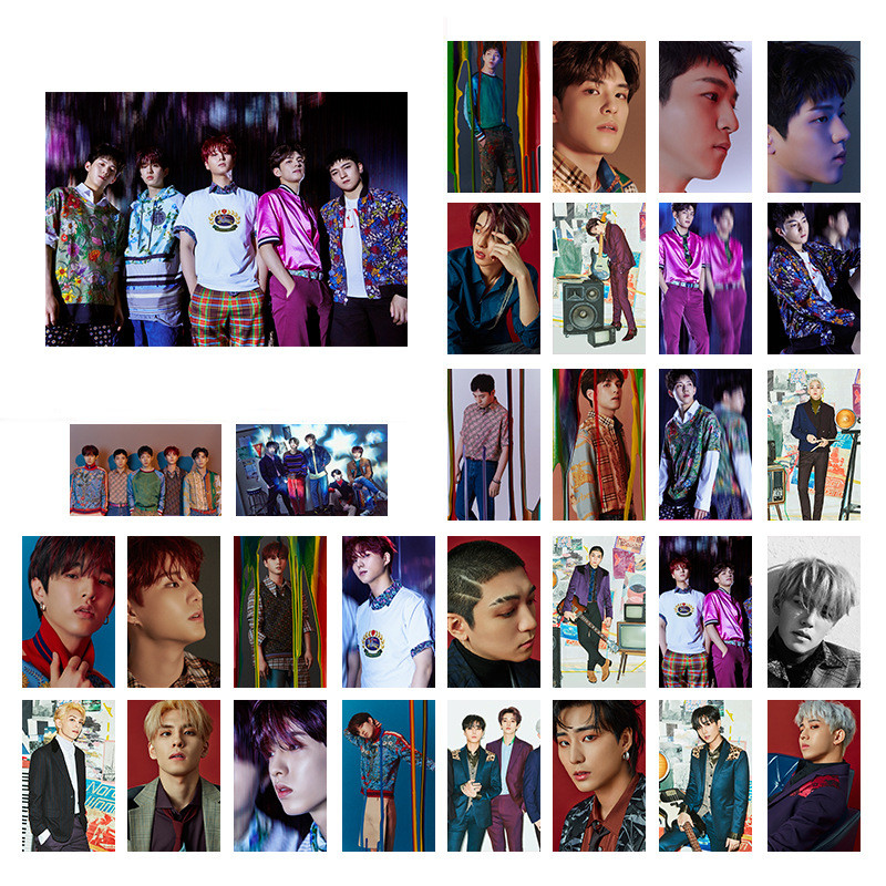 30PCS SET K POP DAY6 UNLOCK More DYA6 Events LOMO Card PhotoCard Picture YG336