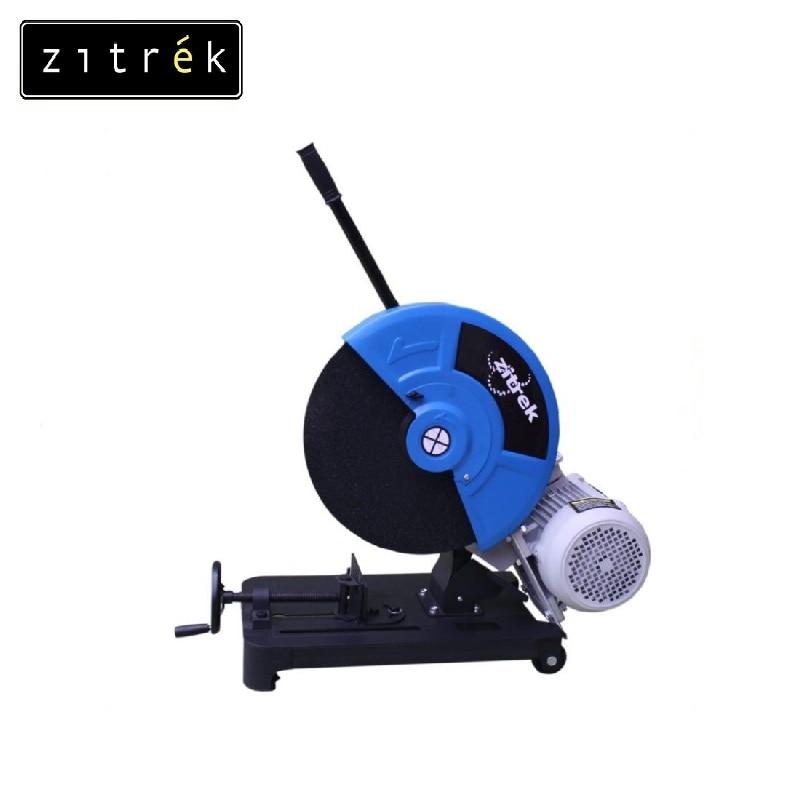 Zitrek COM-400/380 cutting machine (Disk 400x25mm, 3.0kW, 380V, 60kg, 0.7x0.5x0.6m) Cut metal Slitting cutter Flat saw 95 degree flat cutter leader pin for key cutting machine