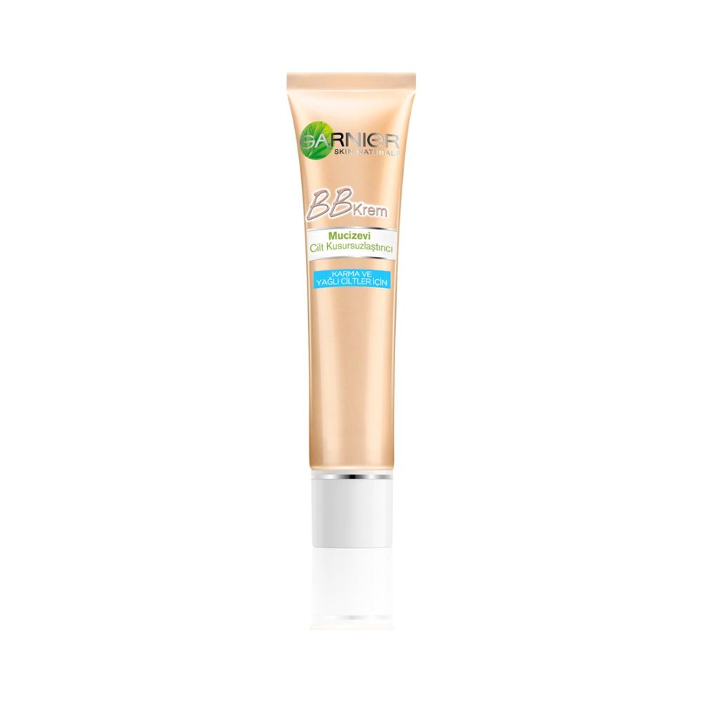 Garnier BB Cream Miraculous Skin Perfecting Combination / Oily Skin Light Tone (Light) 40ML image