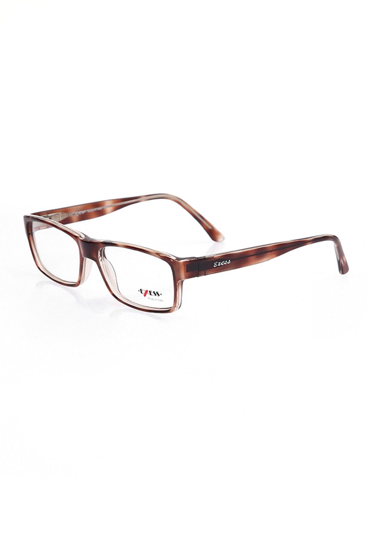 Markamilla Men Reading Glasses Frame Demo Glasses Eyewear Transparent High Quality MenExess E 237 7085 57