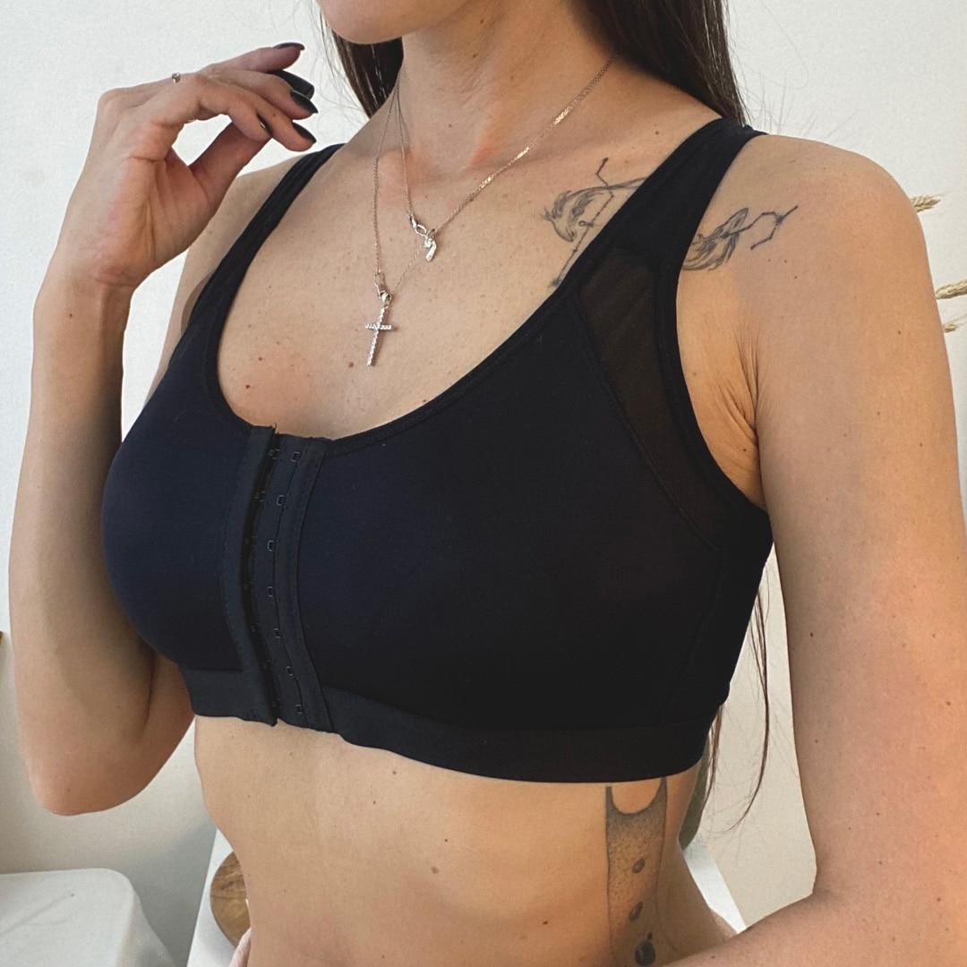 Для женщин после хирургических операций передний открытый восстановления бюстгальтер с регулируемым плечевым ремнем пост увеличение груд...