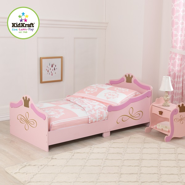 Children Beds KidKraft  Children\'s Bed Princess Children's Furniture For Children For Kids Bed Beds Made Of Wood Single