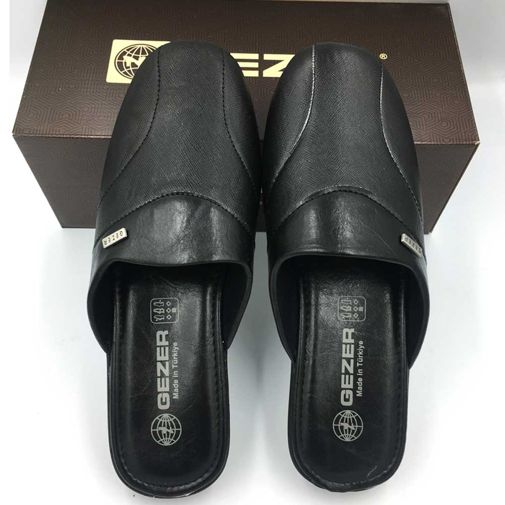 Overhead Men Slippers Boys Slippers Mens Leather Slippers Shoe Casual Footwear Groom Slippers Slippers For Office Wedding Suit