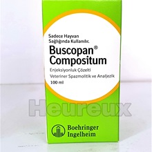 Cattle Compositum-Solution Horses Injection for Butylscopolamine Metamizole Dogs Boehringer