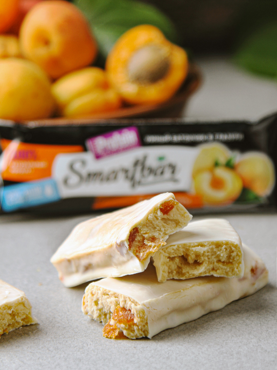 "Батончик protein ""apricot in йогуртовой glaze"" SmartBar protein 40g."