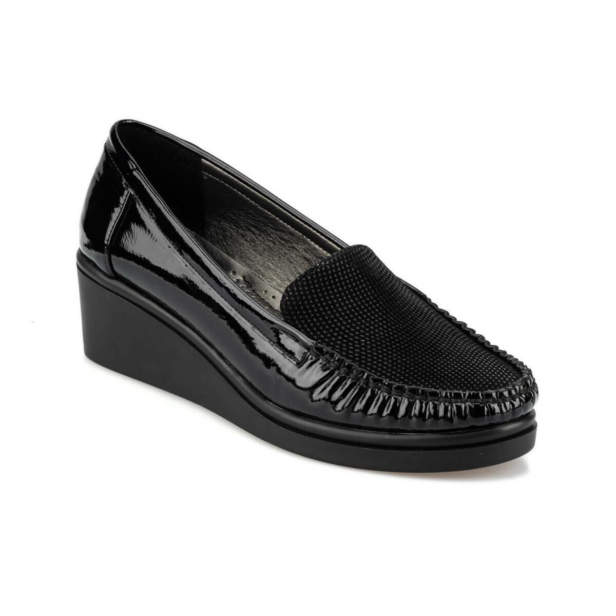 FLO 92.151041SZ Black Women Loafer Shoes Polaris