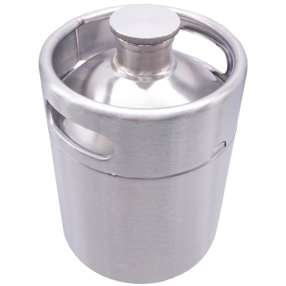 2/3,6/5 L. Mini keg beer, brewing, capacity for mug, stainless steel 1