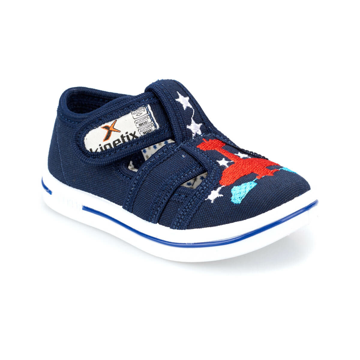 FLO ZYRA Navy Blue Male Child Sneaker Shoes KINETIX