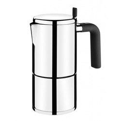 Coffee maker bali bra a170402 - 6 cups-stainless steel 18/10-ergonomic handle Bakelite-modern design