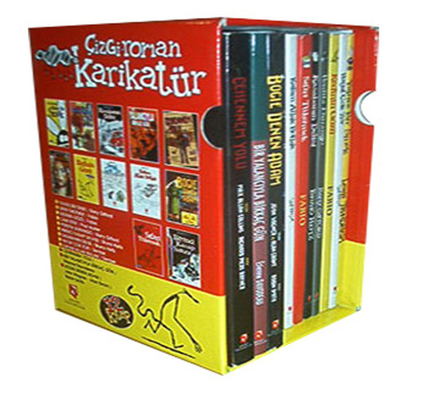 Comics Cartoon Series-10 Book Team Collective Aksoy Publishing (TURKISH)