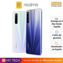 Realme 6, teléfono móvil libre, 64GB/128GB, cámara cuadrúple 64MP, pantalla 90Hz, procesador Helio G90T y carga rápida 30W