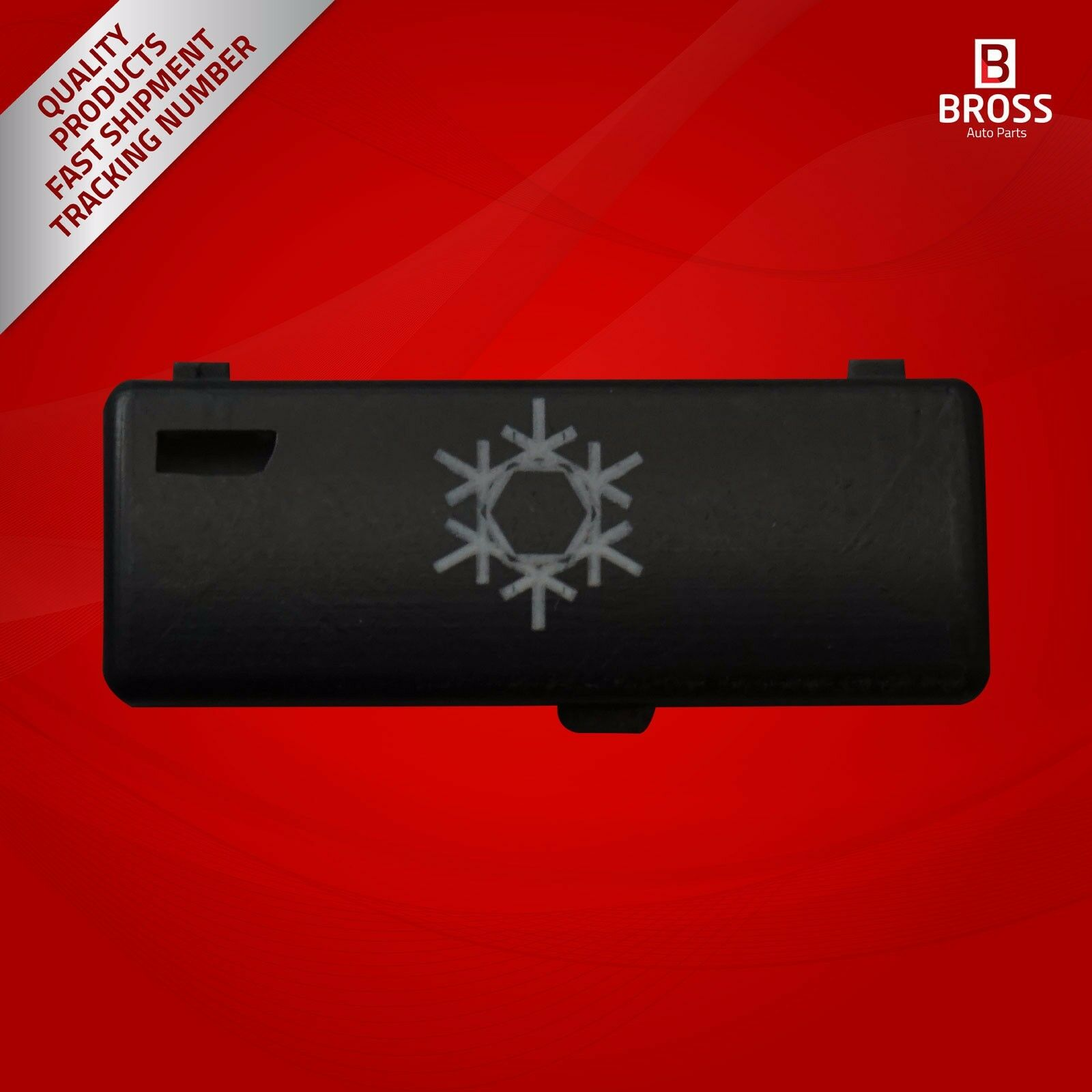 BDP88-8 1 Piece Heater Climate Control Air Conditioning Switch Button Cover #8 For 5 Series X5 E53 2000- 2007 E39 1995-2003