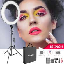Neewer 18 дюймовый светодиодный кольцевой светильник комплект:
