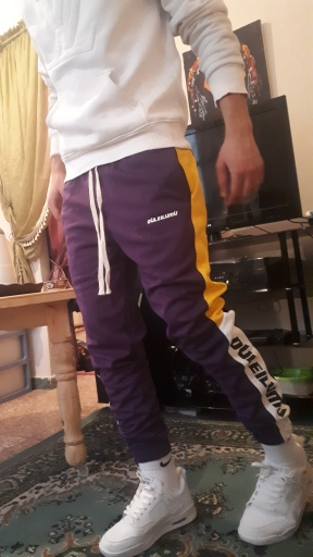 INFLATION Men Clothes Pants Men 2020 New Autumn Mens Sweatswear Pants Printing Side Stripe Pockets Men Vintage Sweatpants 353W17|Sweatpants|   - AliExpress