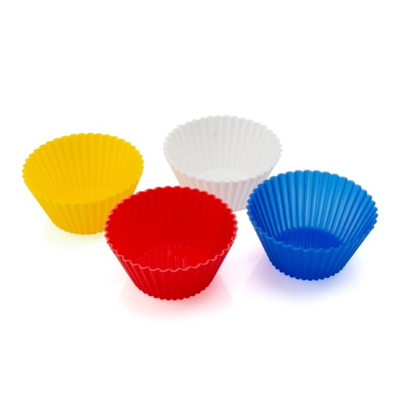 Silicone Cupcake Moulds (4 Pcs) 143983