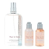 Women's Perfume Set Fleurs De Cerisier L'occitane (3 pcs)