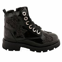 Girls Boots Shoes Spring Autumn Black PU Children's LeatherFashion Kids Warm Winter Rubber Waterproof Snow Rain Baby Water