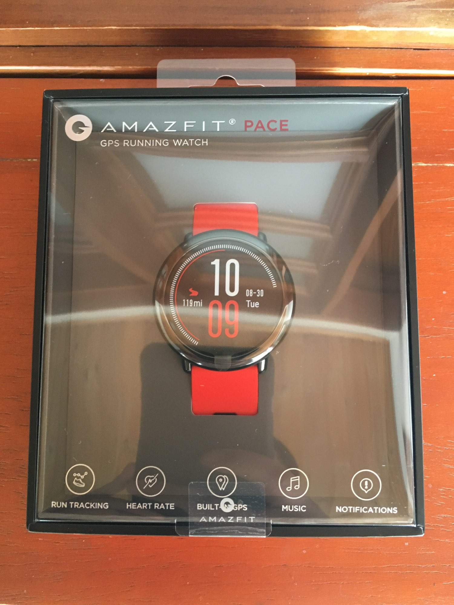 Original Amazfit Pace Smartwatch Amazfit Smart Watch Bluetooth Notification GPS Information Push Heart Rate Monitor for Android Smart Watches    - AliExpress