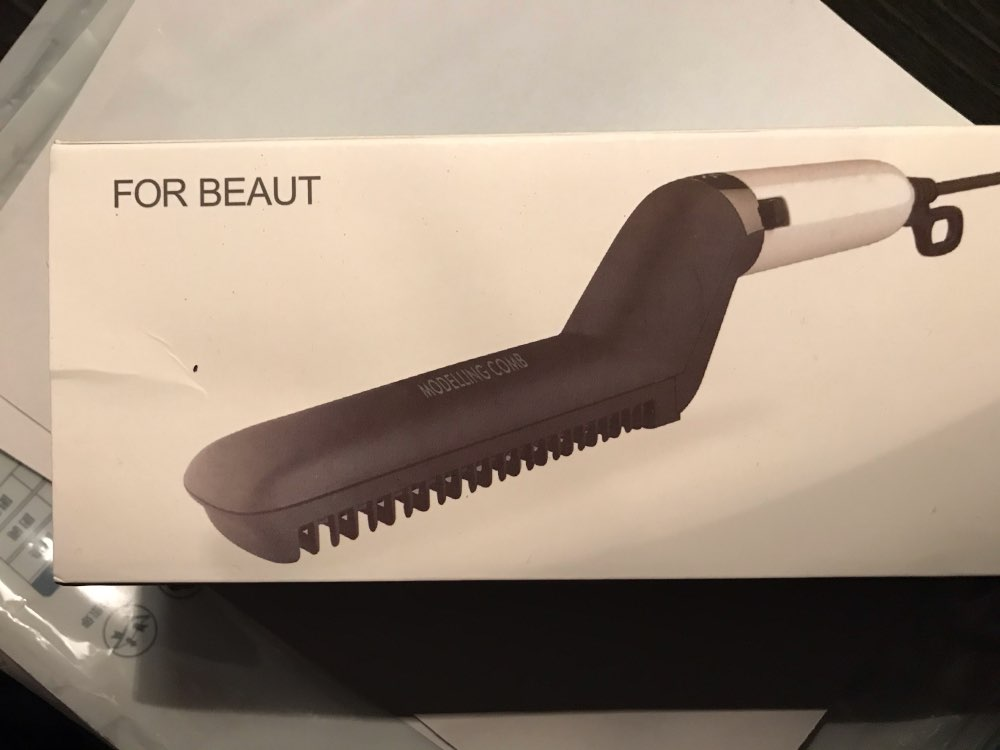 Magmus Beard & Hair Straightener photo review