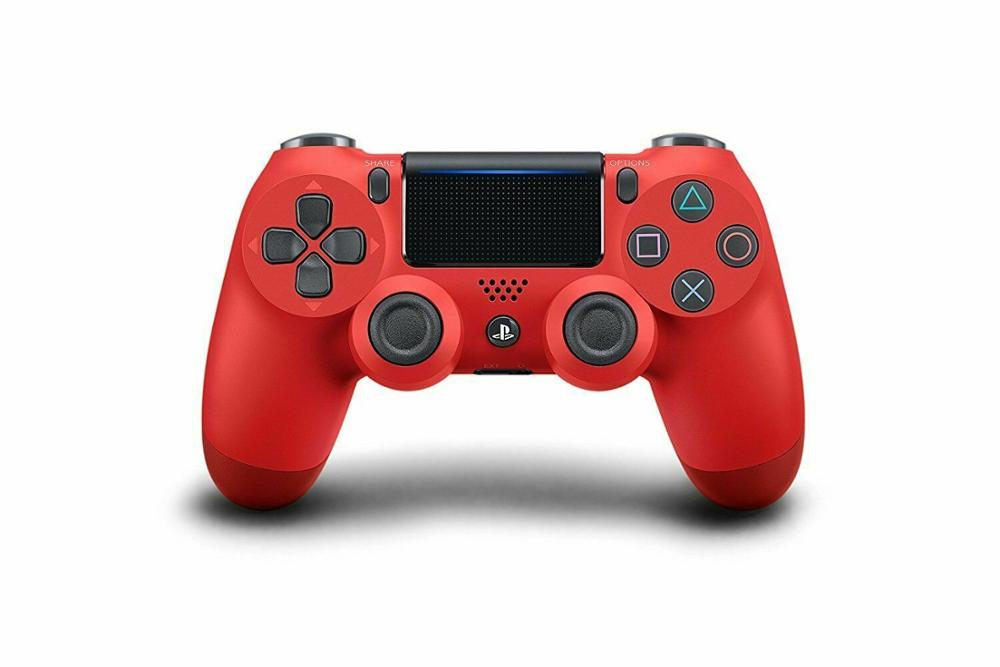 SonyPlayStationDualshock 4 Wireless Controller - Magma Red (CUH-ZCT2G 11)  Wireless Joystick Gamepad For PS4