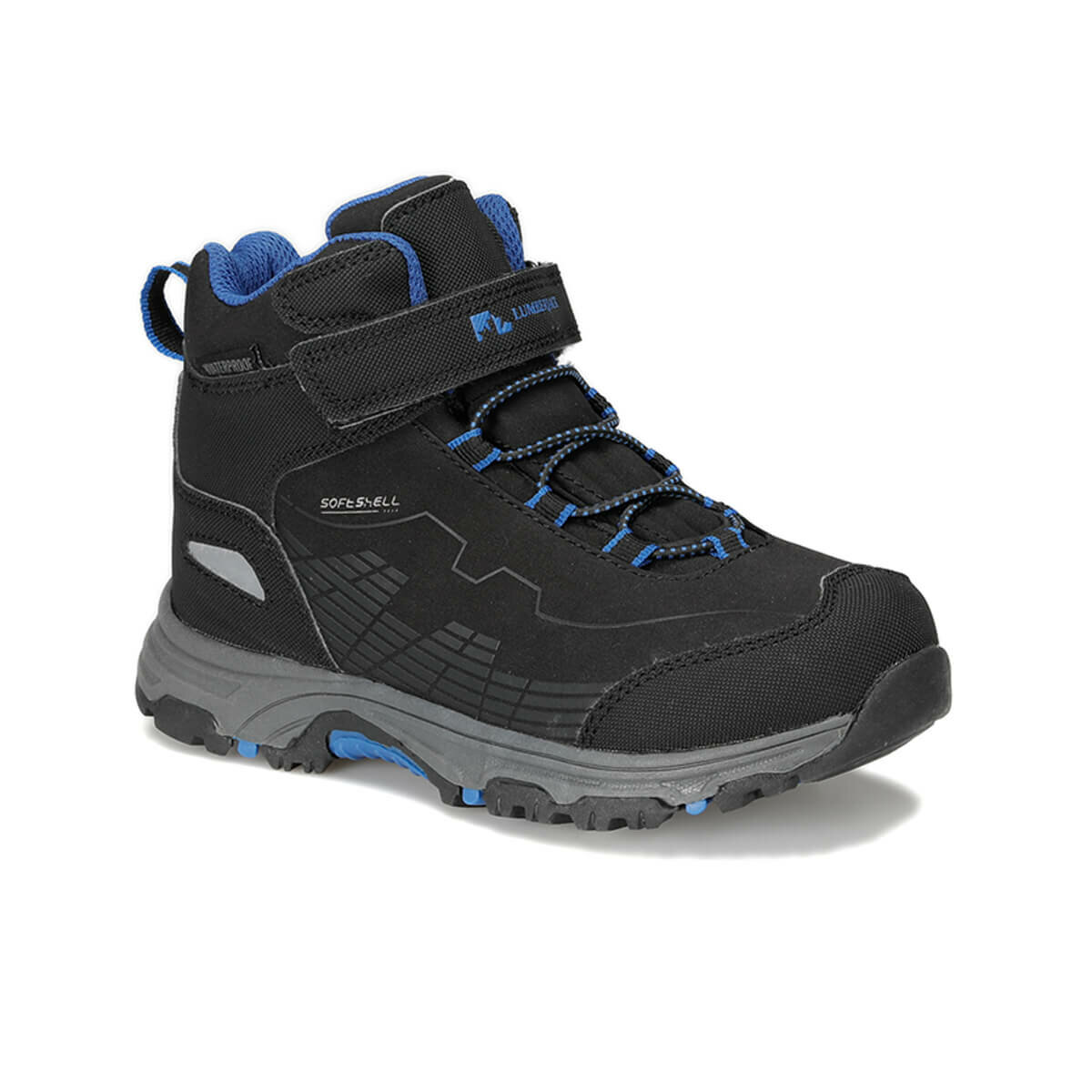 FLO CHAMP HI 9PR Black Male Child Outdoor LUMBERJACK