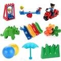 Große Größe Diy Bausteine Schaukel Dinosaurier Figuren Tier Zubehör Kompatibel Mit Ziegel Spielzeug Für Kinder Geschenke