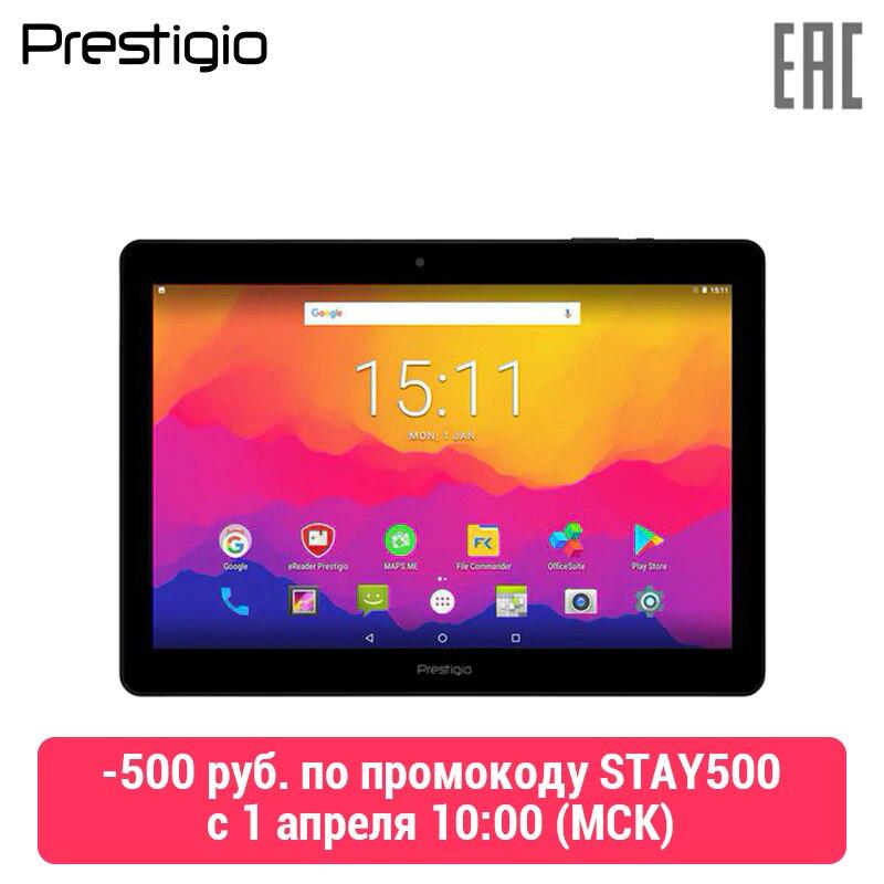 Tablet Prestigio Wize 3161 3G, Pmt3161 _ 3G _ C_CIS, Sim, 3G, 10.1 ''(800*1280) IPs, Android 7.0, 1 GB DDR, 8 GB, 0.3мп + 2.0MP, 5000 MAh