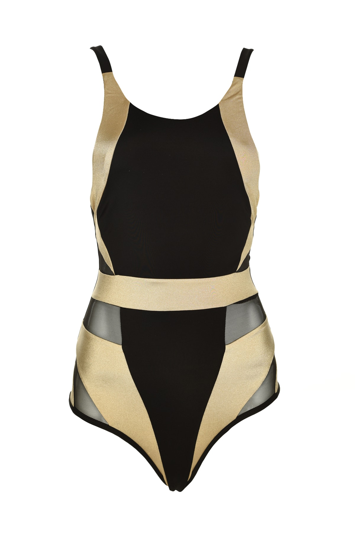 Trendyol With Color Block Gauze Detailed Swimsuit TBESS20MA0071