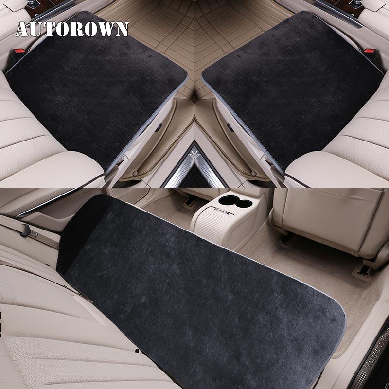 Incredible Autorown Back Car Seat Cover Faux Fur Universal Size For More Car Artificial Sheepskin Cushion Cover Auto Interior Accessories Best Promo Black Inzonedesignstudio Interior Chair Design Inzonedesignstudiocom