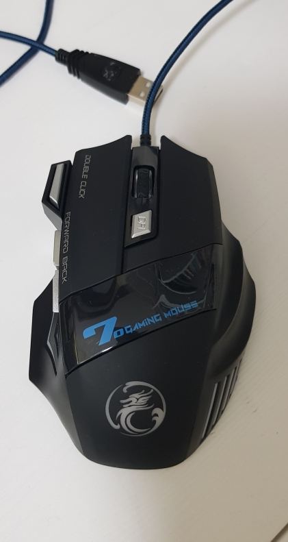 Professional Wired Gaming Mouse photo review