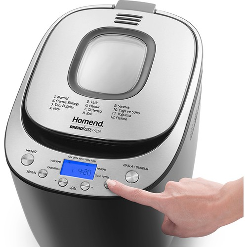 Homend 1503 Breadfast Bread Making Machine | Bread Machine | Bread Maker | Dough | Bread |