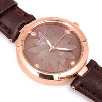 Top Brand fashion simple women watch leather ladies watches ladies wristwatch dled wristwatch