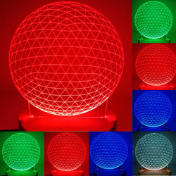 N-072 Bead-3D USB led Eco-friendly lamp night light, hand, table night light, home decor,