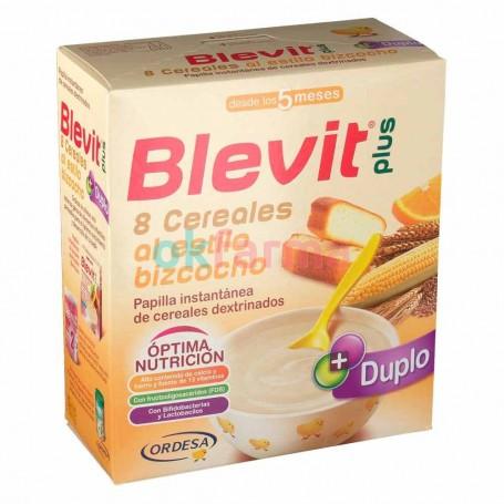 Blevit Plus 8 Cereals Style Biscuit 600 GR