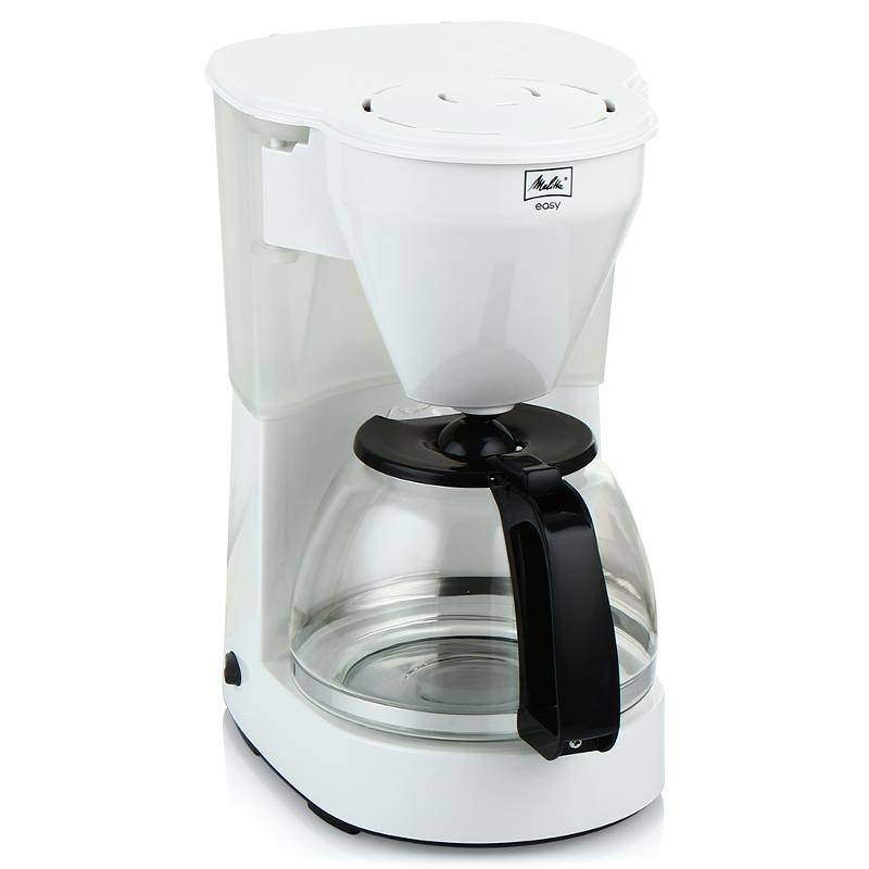 Drip coffee maker Melitta EASy II, White
