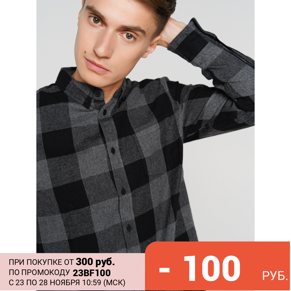 ТВОЕ Рубашка/сорочка с длинным рукавом|Повседневные рубашки| | АлиЭкспресс