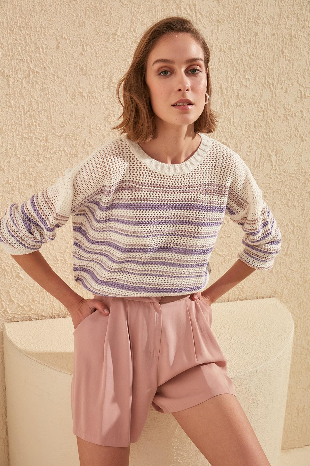 Trendyol Braided Sweater TWOSS20KZ0056