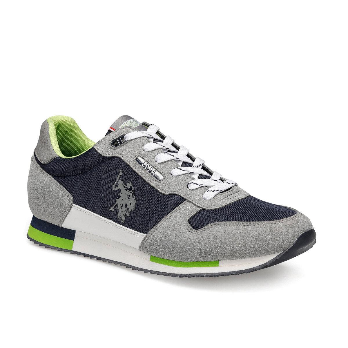 FLO POND Gray Men 'S Sports Shoes U.S. POLO ASSN.