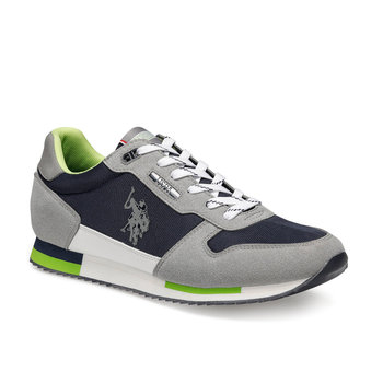 FLO POND Gray Men 'S Sports Shoes U.S. POLO ASSN.