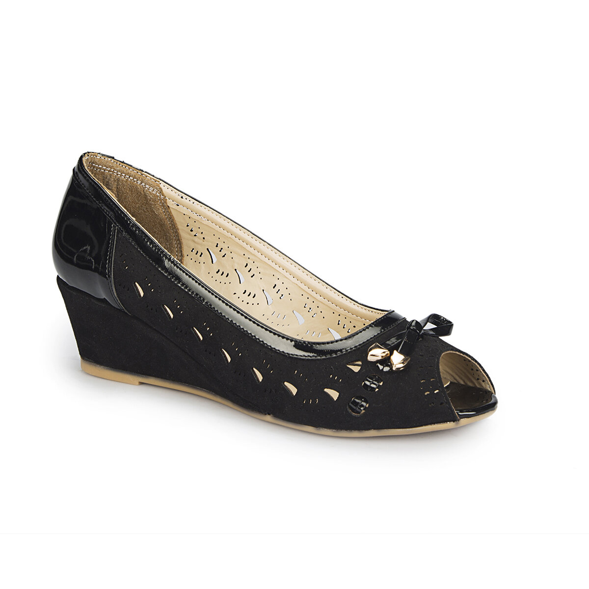 FLO 81.309766.Z Black Women Sandals Polaris