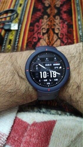 Amazfit Verge A1811 Smartwatch (Versão Normal Completo) 100% Original photo review