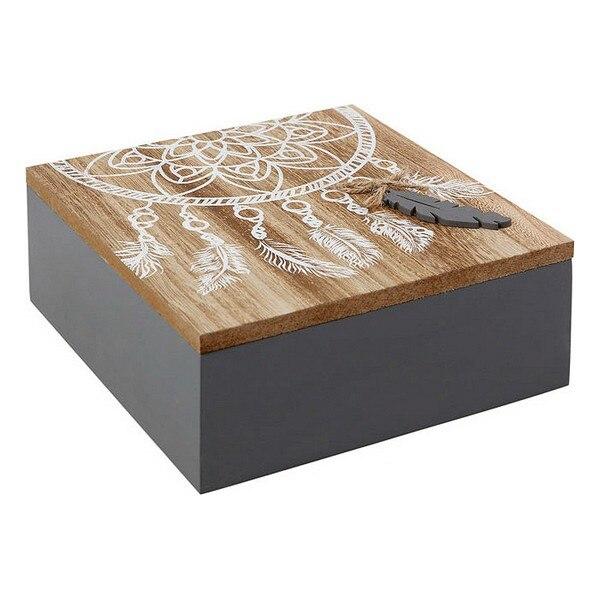 Decorative box 114080 (18 x 7 x 18 cm)|Foldable Storage Bags| |  - title=