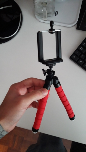Trípode Flexible para teléfono móvil iPhone, Samsung, Xiaomi