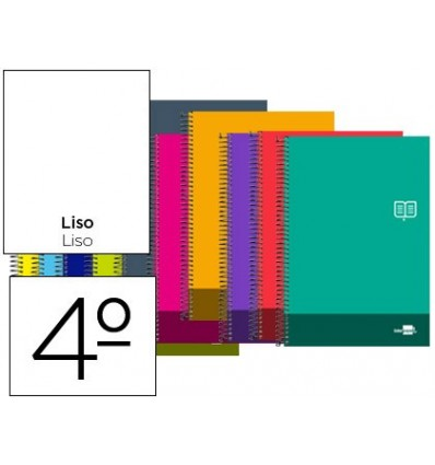 SPIRAL NOTEBOOK LEADERPAPER ROOM DISCOVER SOFTCOVER 80H 80GSM SMOOTH WITHOUT MARGIN ASSORTED COLORS